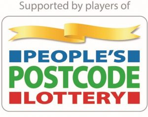 Logo for Peoples Postcode Lottery