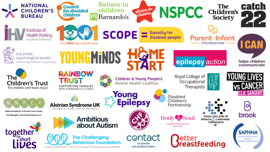 Graphic showing members of Children and Young People's Health Policy Influencing Group