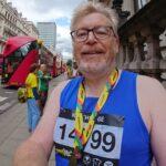 Keith Ridge at the London Landmarks Half Marathon